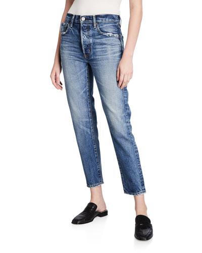 Moskee Dark-Wash Tapered Jeans