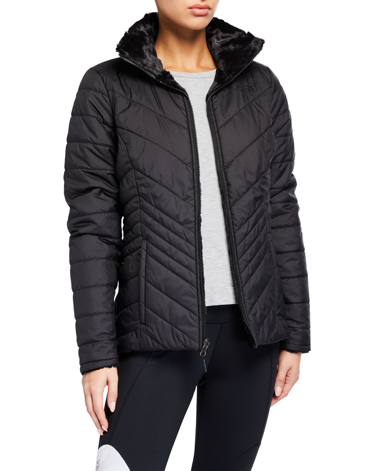The North Face Jackets MOSSBUD INSULATED REVERSIBLE JACKET
