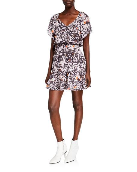 Parker Augustine Animal Print Dress