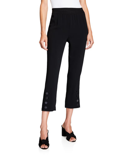 Tori Cropped Button Pants