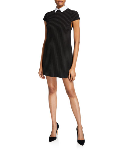 Coley A-Line Dress with Detachable Collar
