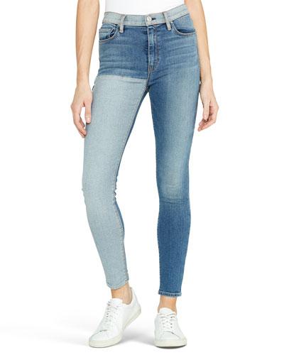 Barbara High-Rise Skinny Ankle Jeans