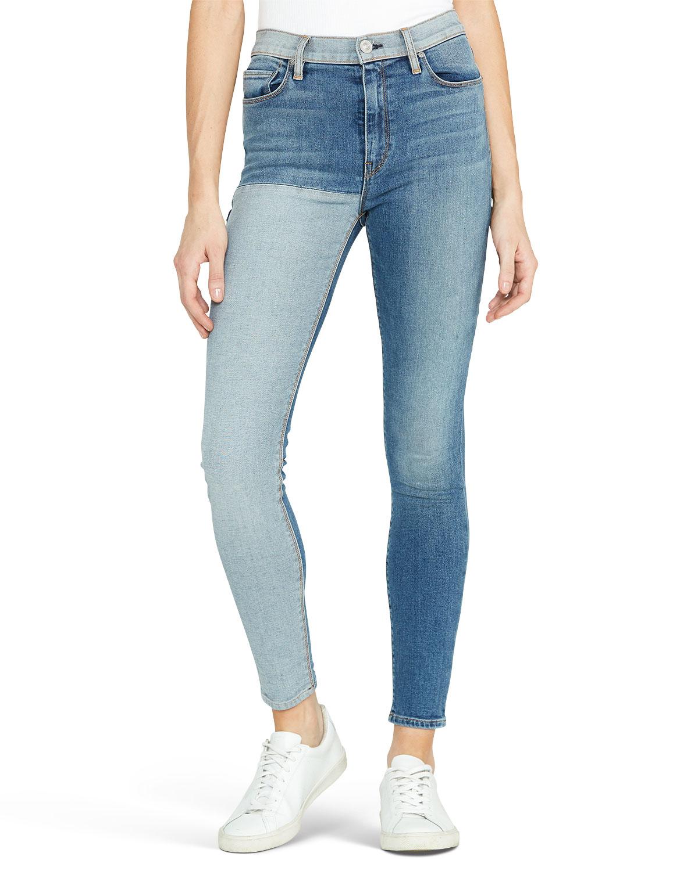 Hudson Jeans BARBARA HIGH-RISE SKINNY ANKLE JEANS