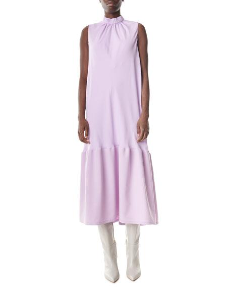 Tibi Modern Drape Sculpted Long Dress