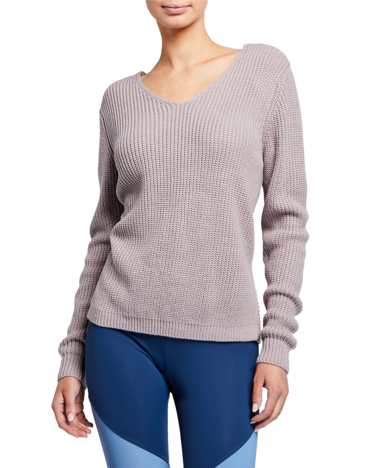 Onzie Sweaters BALLET TWISTED-BACK SWEATER