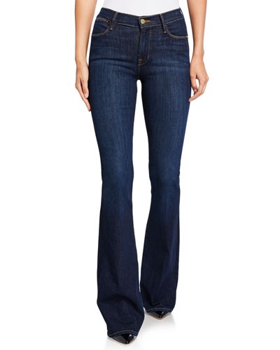 Le High Rise Flare Jeans