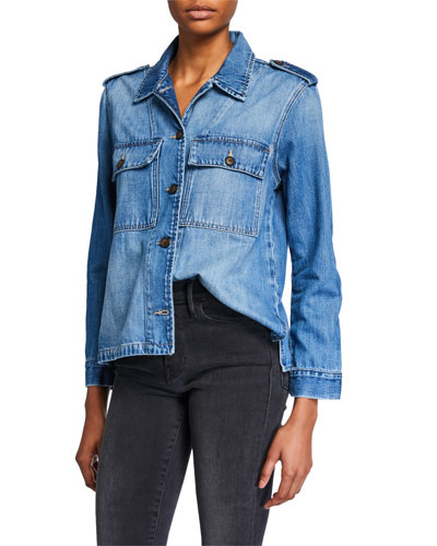 Service Denim Shirt Jacket