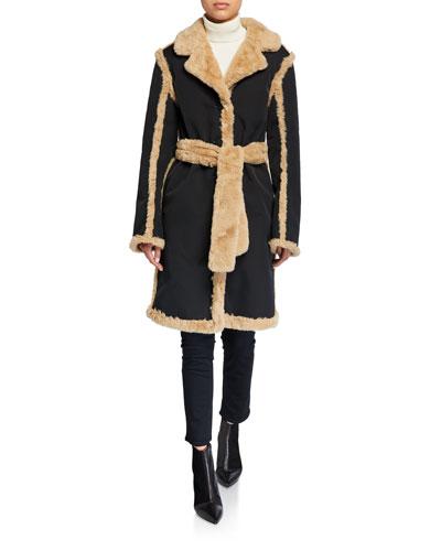Reversible Faux-Fur Coat
