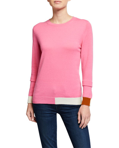Cambridge Colorblocked Cashmere Sweater