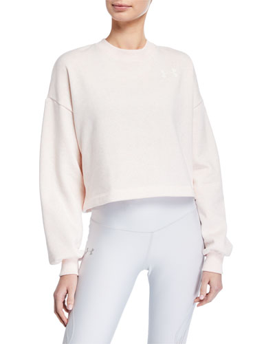 Rival Fleece Graphic LC Crewneck Sweatshirt, Pink
