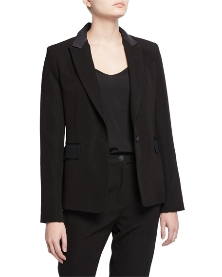 Rag & Bone Rylie Single-Button Blazer