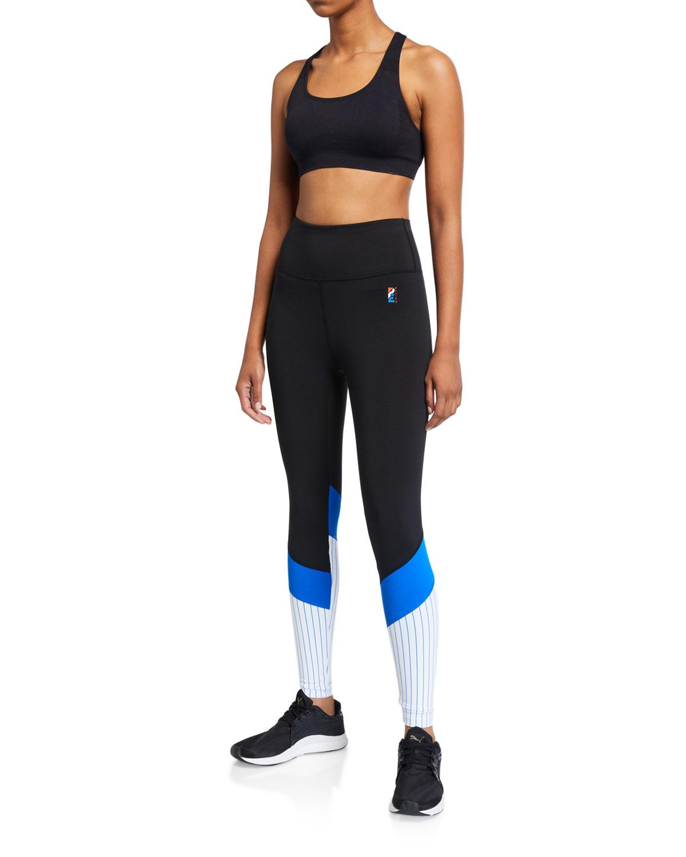 Bodywork Stripe Paneled Leggings