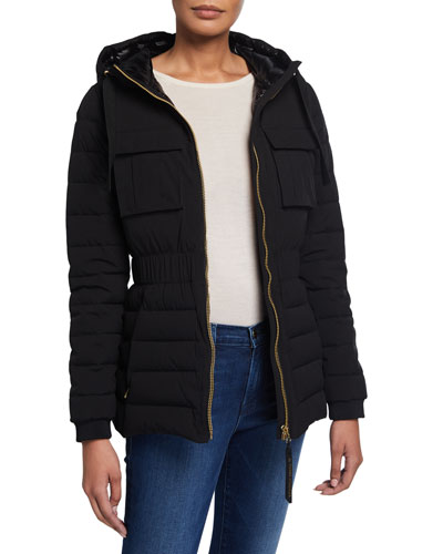Kedgwick Quilted Jacket w/ Hood