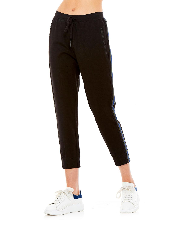 The Upside Pants BLAKE SIDE-STRIPE TRACK PANTS