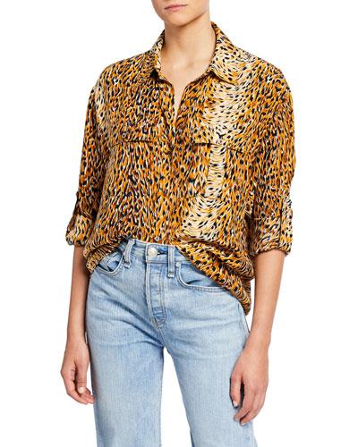 Roaming Safari Boyfriend Shirt