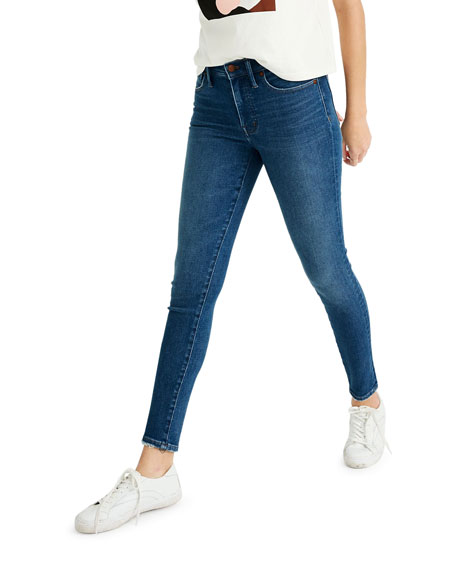 """Madewell 9"""" High-Rise Skinny Jeans - Inclusive Sizing"""