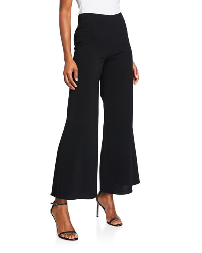 Ashden Wide-Leg Cropped Pants