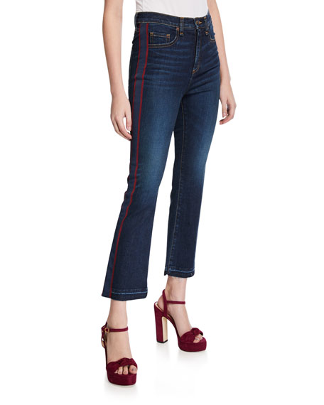 Veronica Beard Jeans Carolyn Baby Boot-Cut Jeans - Extended Sizes