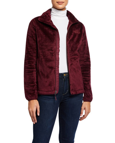 Osito Fleece Zip-Front Jacket
