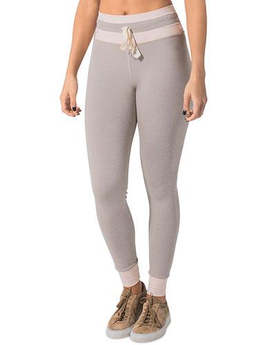 Welcome Ohm Striped High Waist Pants