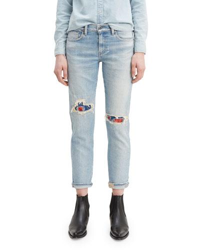 New Boyfriend Rip & Repair Jeans