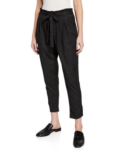 Allyn Pinstripe Pants