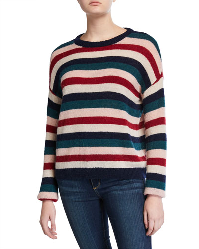 Adela Striped Sweater