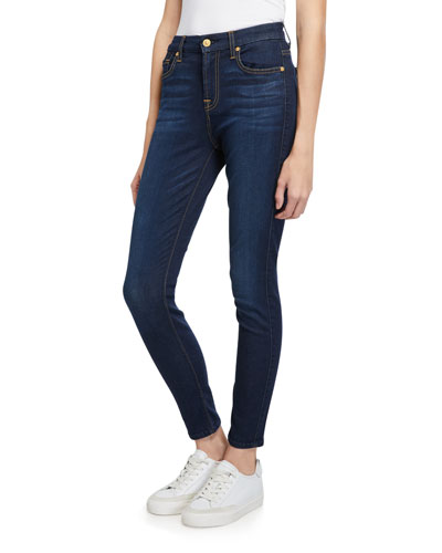 The High-Waist Ankle Skinny Jeans