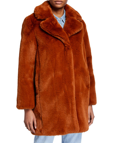 Masolin Faux-Fur Jacket