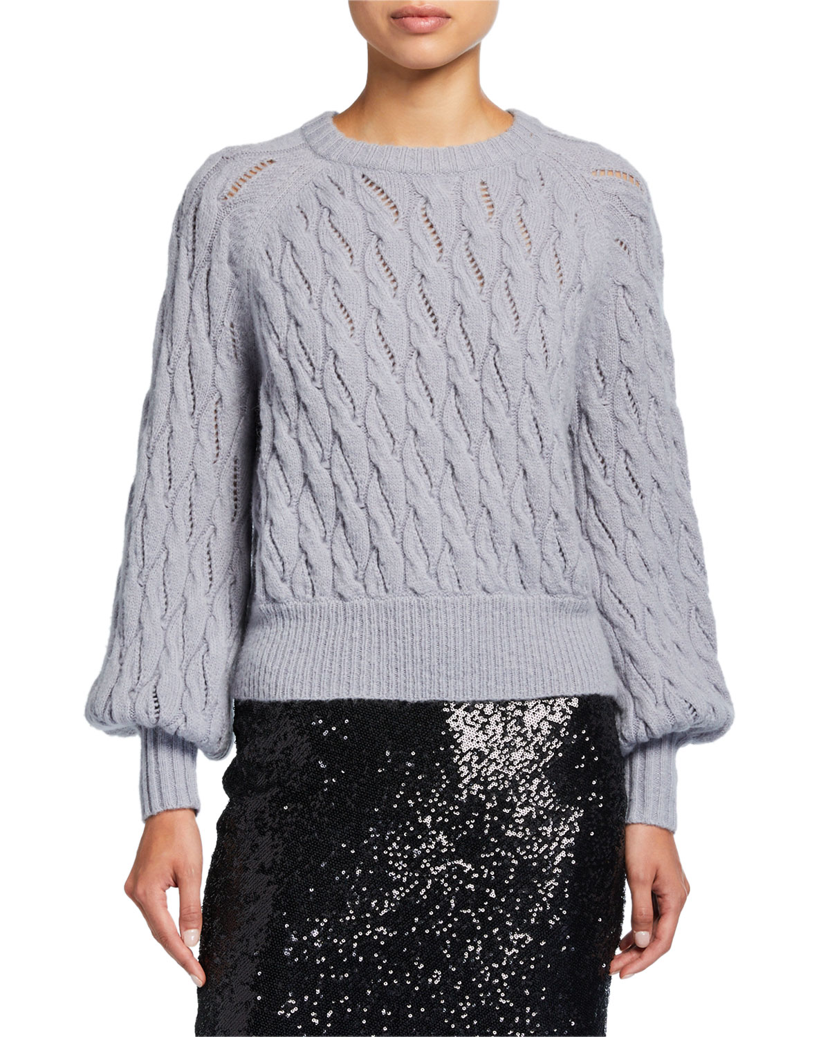 Cinq À Sept Knits Campbell Knit Pullover Sweater