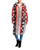 Johnny Was Tessa Reversible Quilted Parka Coat