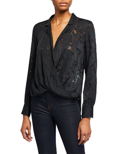 Dean Floral Cross-Front Shirt
