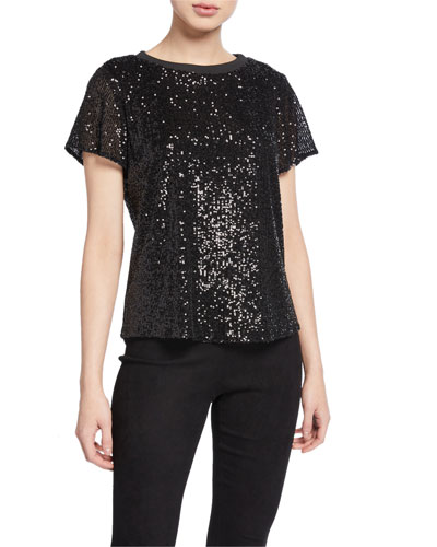 Anna Sequined Top