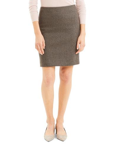 Clean Pencil Skirt