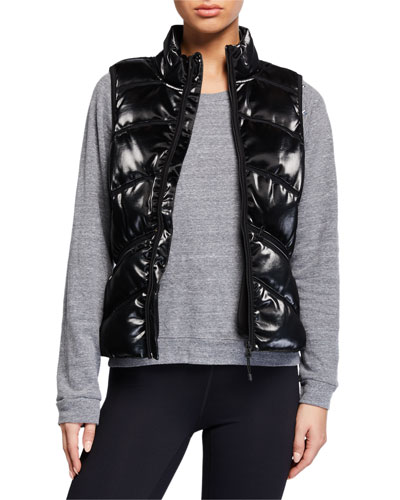 Freestyle Mesh Inset Puffer Vest