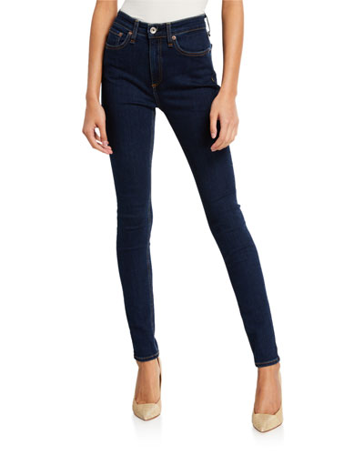 Nina High-Rise Skinny Ankle Jeans