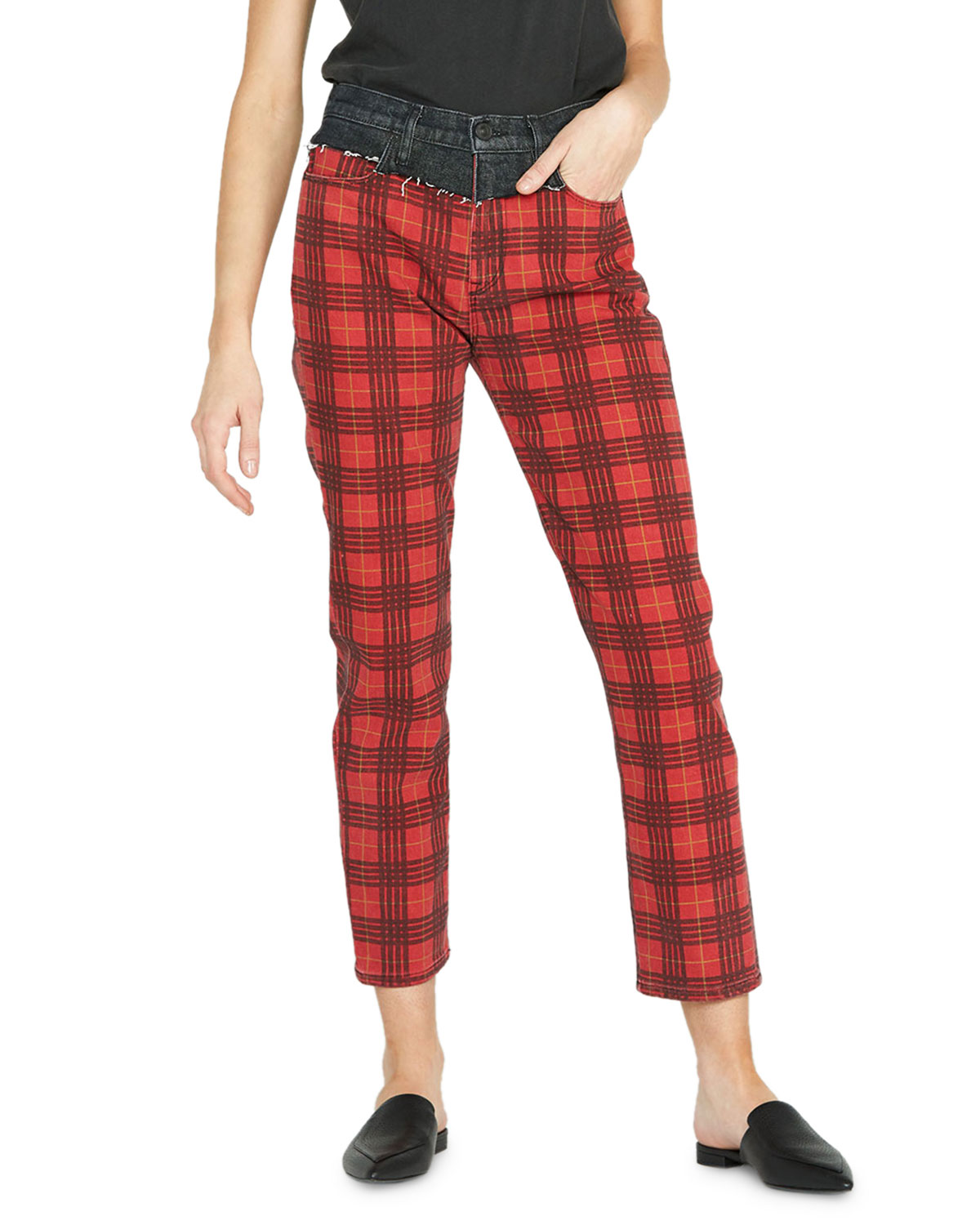 Bettie High-Rise Tapered Jeans