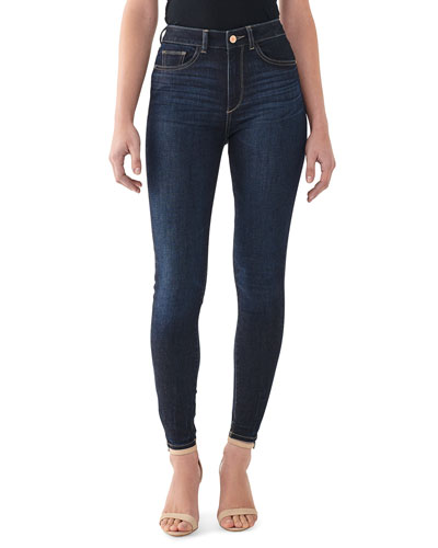 Farrow High-Rise Ankle Skinny Jeans