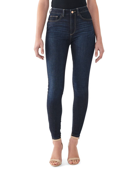 DL1961 Premium Denim Farrow High-Rise Ankle Skinny Jeans