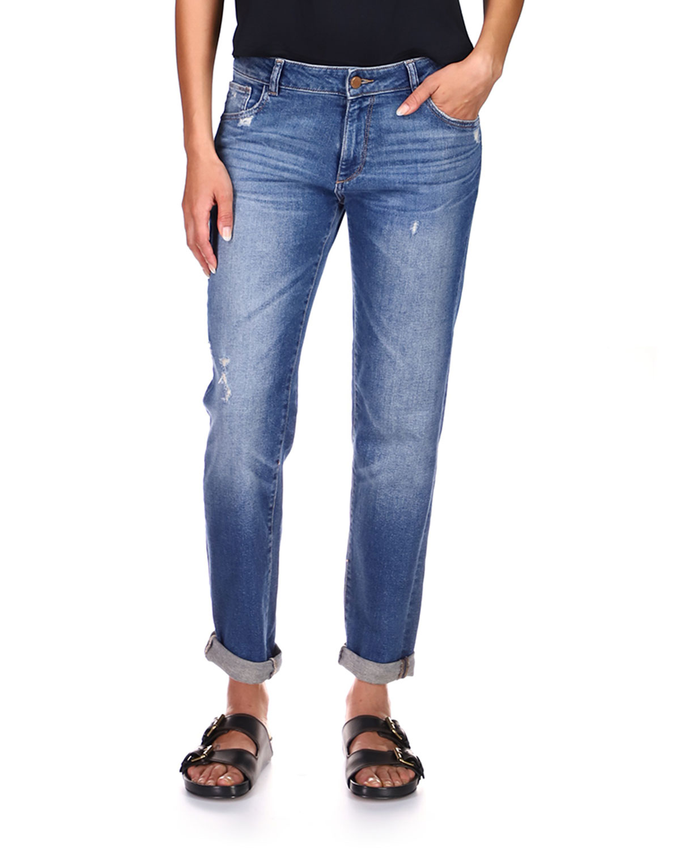 Riley Mid-Rise Boyfriend Jeans