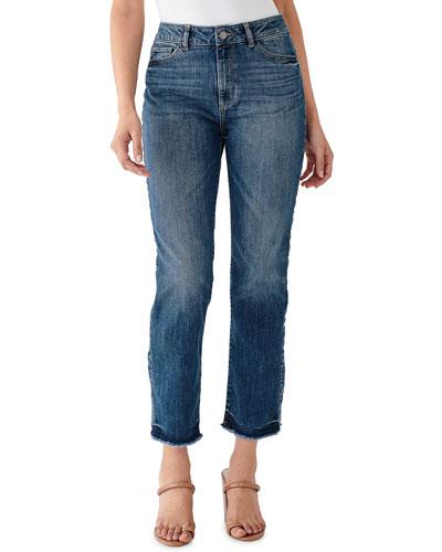 Mara Instasculpt Straight-Leg Jeans