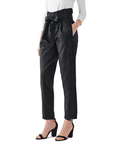 Susie High-Rise Tapered Pants