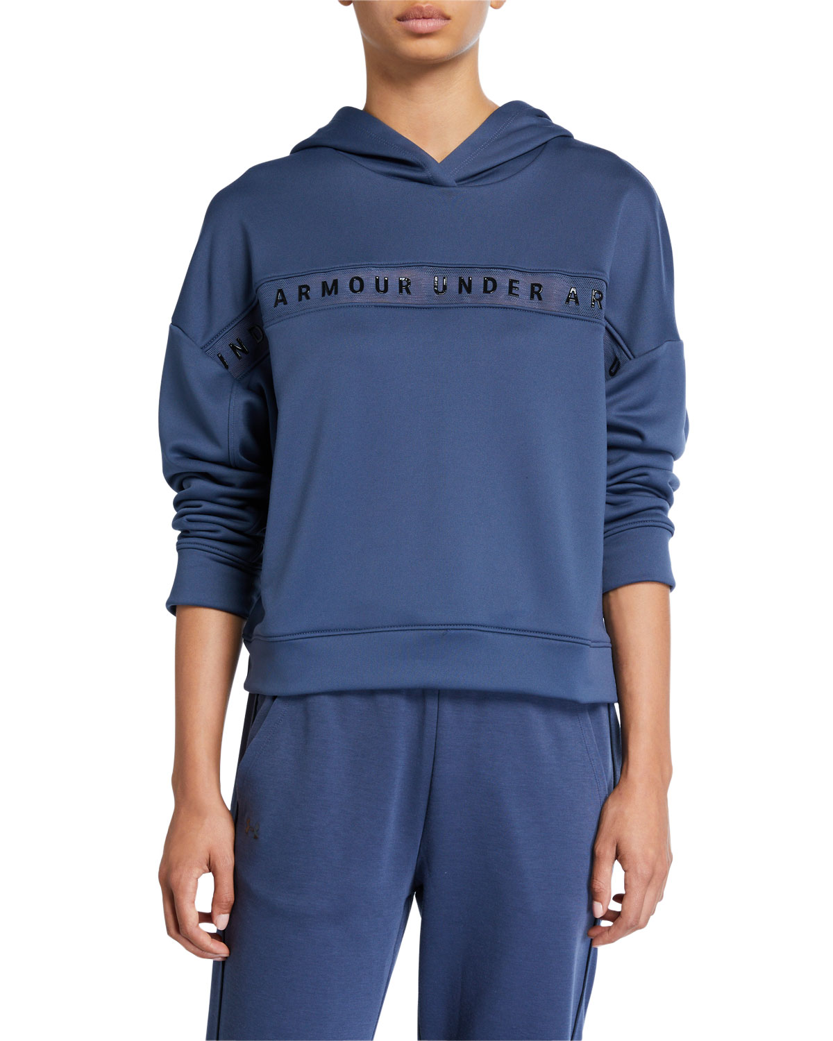Under Armour Tops TECH TERRY LOGO PULLOVER HOODIE