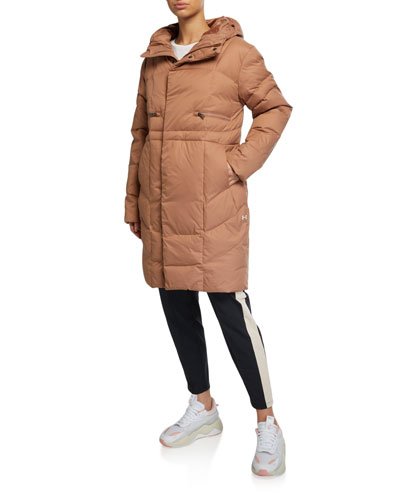 UA Armour Quilted Down Parka Coat