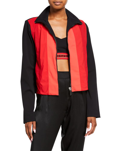 Powerhouse Long-Sleeve Zip-Front Shirt