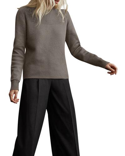 Elmvale Crewneck Wool Sweater