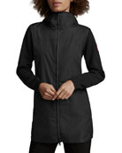 Canada Goose Windbridge Hooded Wool Jacket w/ Water-Resist