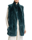 Gushlow and Cole Mid Length Shearling Vest