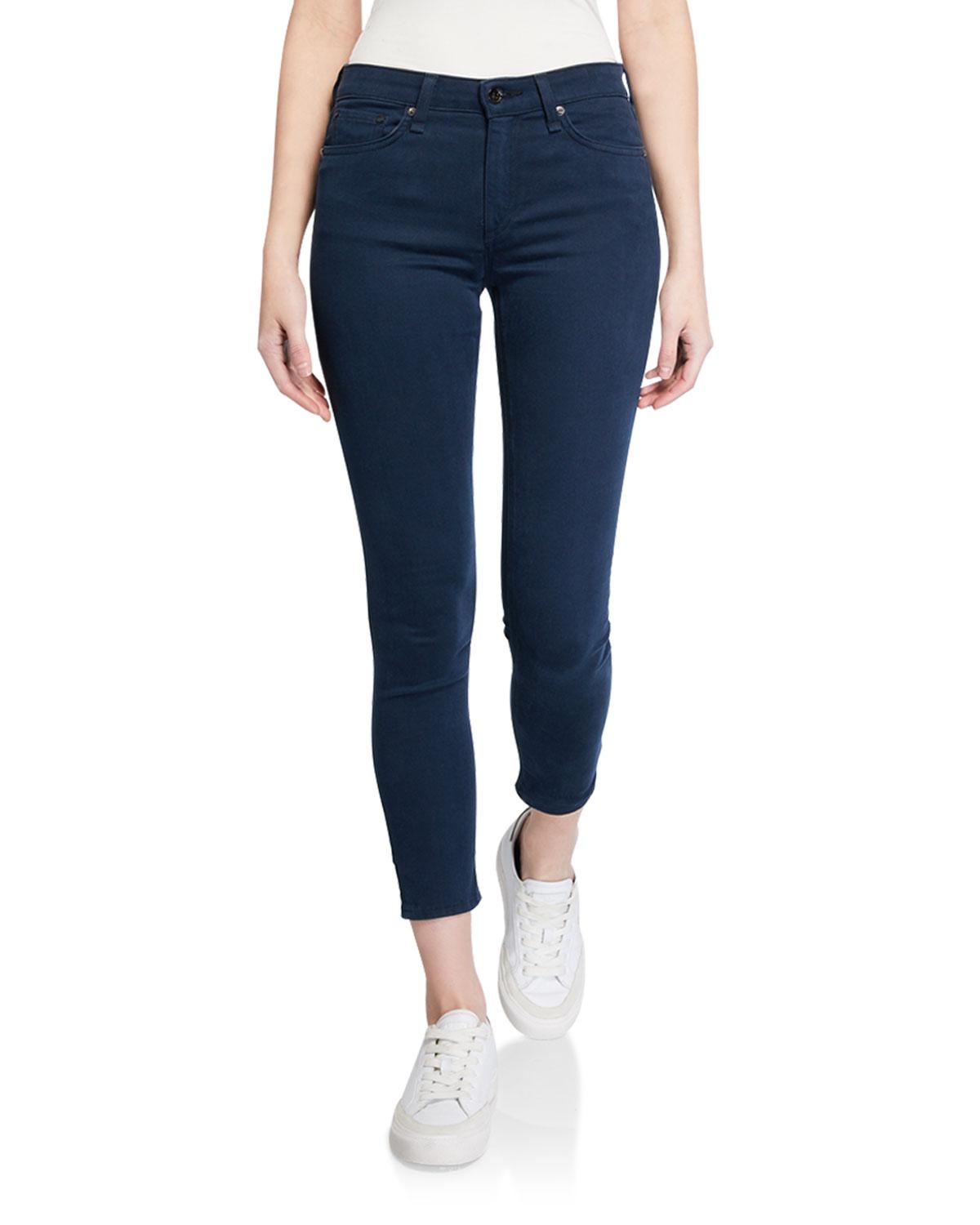 Rag & Bone Jeans NINA HIGH-RISE ANKLE SKINNY JEANS