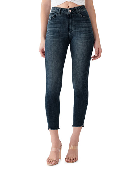 DL1961 Premium Denim Farrow Crop High Rise Skinny Jeans